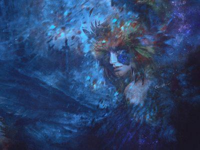 Photomontage & peinture numérique.  Copyright www.ClairObscur.fr