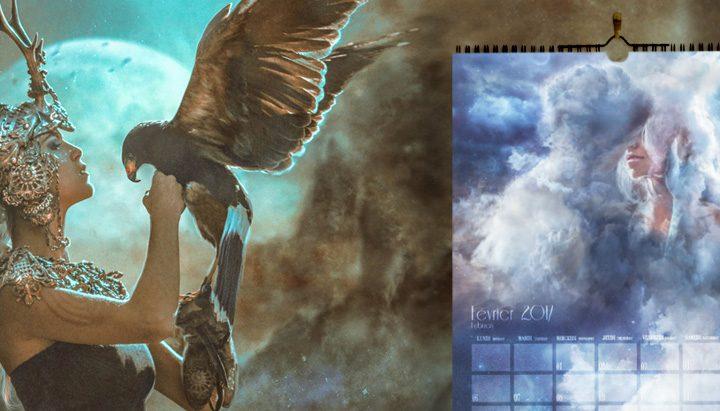 Calendrier Fantasy 2017 - Illustrations